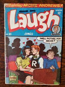Laugh Comics 21 (#2) 1946 Good Archie Betty & Veronica Early Katy Keene GGA