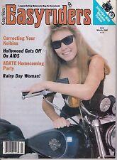 Easyriders Motorcycle Magazine MARCH 1986 MAR