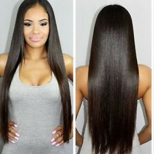 MINK 300g STRAIGHT A** Brazilian Peru Real Virgin Human Hair Extensions 9A Weave