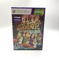 Kinect Adventures! Microsoft Xbox 360 2010 Complete w/ Manual Tested Clean