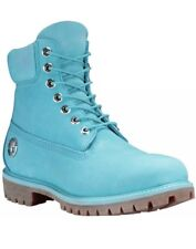 Timberland Mens Limited Release Fire Water 6in Prem. Waterproof Boots Blue 9