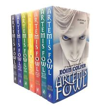 Artemis Fowl Collection Eoin Colfer 7 Books Set The Number One Best Seller