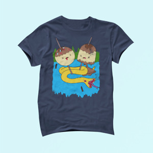 Adventure Time Candy People Cotton T Shirt Unisex_2084