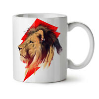 Tiger Head Face Animal NEW White Tea Coffee Mug 11 oz   Wellcoda