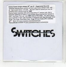 (FN636) Switches, Drama Queen - 2007 DJ CD