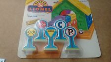 Little Lionel 5-Piece Sign Pack Compatable with Thomas & Brio Etc.