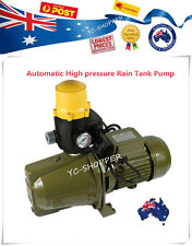 Auto High Adjustable Pressure Rainwater Tank Pump Household Garden Dry Protect