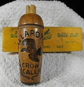 vintage MALLARDTONE Crow Call lightly used EXCELLENT CONDITION Weems