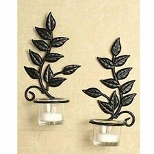 Wall Hanging Candle Holders wall-mounted candle sconces | ebay