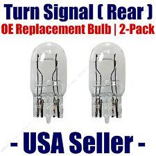 Rear Turn Signal/Blinker Light Bulb 2-pack Fits Listed GMC Vehicles - 7443