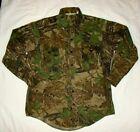 VTG Sports Afield ORIGINAL Realtree Camo Camouflage shirt jacket USA MADE L #722