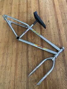 1982 GT Mach One Mini Frame Fork Old School BMX  Chrome Original Survivor