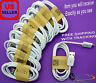 20x Wholesale Lot of White Micro USB Cable Charger Cord for Samsung Galaxy S2~S6