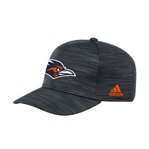UTSA Roadrunners NCAA Men's Adidas Stretch Fit Hat, Onesize, Black