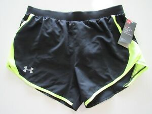 Under Armour Women's UA Fly-By 2.0 Shorts 1350196 Nwt