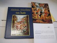 Animal Quackers by Carl Barks - Limitiert 775/1000 Signiert von Carl Barks