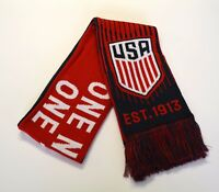 Team usa soccer us national scarf reversible usmnt world cup new red united one