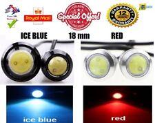 2X Car Motorcycle LED Eagle Eye 18mm Daytime Running Tail Light Backup Lamp 12V