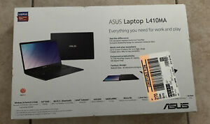 "ASUS 14"" FHD Laptop Windows Home Star Black-Model L410MA-TB02  New Sealed Box!"