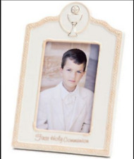 First Holy Communion Photo Picture Frame porcelain Catholic  # N00112