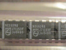 NE592N8 PHILIPS Video Amplifier 8pin Dip Genuine Philips Components (50 pieces)