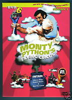 Monty Python's Flying Circus New 2 DVD Set 6 Season 3 BBC TV British Comedy Idle