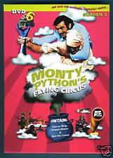 MONTY PYTHON'S FLYING CIRCUS New 2 DVD Set 6 Season 3 BBC TV British Comedy Idle