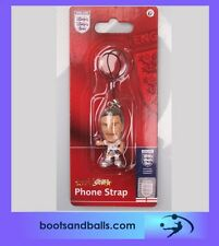 (acc517)  England football micro stars David Beckham phone charm BNIP