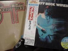 JEFF BECK WIRED + BOGERT& APPICE JAPAN REPLICA LIMITED EDITION 2005 OBI CD SET