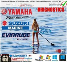 Yamaha+Evinrude ETEC (Johnson) Prof!+ SUZUKI Outboard Diagnostic kit BEST BUY