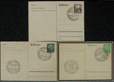 s2055) Deutsches Reich Walfang1939 Dt Schiffspost - Walfangflotte 3 vers Belege