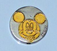 Walt Disney World MICKEY MOUSE Eyes Open Shut Heads or Tales Metal Coin