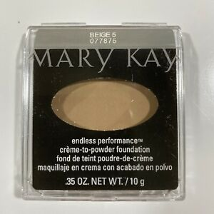 Mary Kay Endless Performance Creme To Powder Foundation Beige 5  077875