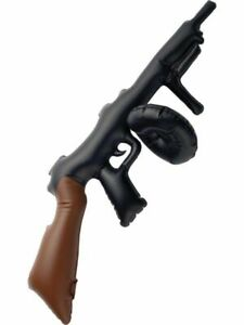 INFLATABLE TOMMY GUN TOY FANCY DRESS COSTUME 20's ACCESSORY ARMY