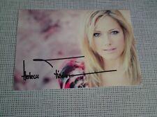Autogrammkarte Helene Fischer