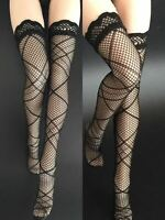 1/6 Female Black Stockings Net Stocking Clothes Fit 12'' Phicen Action Body Toys
