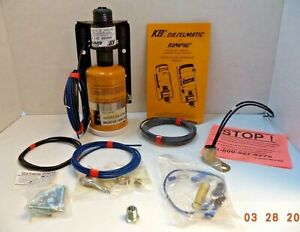 KBi Dieselmatic Kompac 24 V Starting Fluid Kit, pn 501252