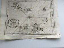 Antique Cape Verde Map c.1746