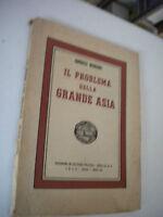 The Problem Della Grande Asia- E.Bonomi - 1942 Series Notebooks Dell' I. N.c. F