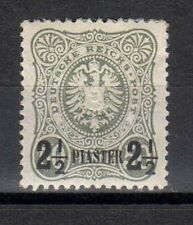 GERMANY DEUTSCHLAND Levant Offices 1884 Overprinted Stamp 2 1/2P on 50Pf MH*