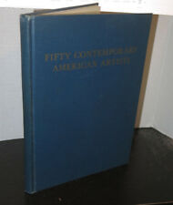 Fifty Contemporary American Artists 1957 SIGNED Alexander Dobkin Mid Century Art