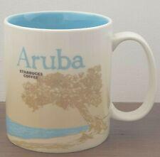 STARBUCKS ARUBA MUG GLOBAL ICON COLLECTOR SERIES 16OZ WITH SKU
