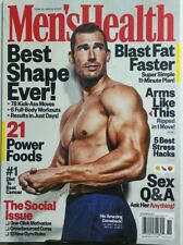 Men's Health Nov 2017 Michael Dubree Best Shape Ever Workouts FREE SHIPPING sb