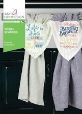 Towel Scarves Anita Goodesign Embroidery Machine Design CD NEW