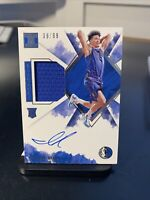 2019-20 Panini Impeccable Isaiah Roby Rookie Patch Auto 29/99 SP Mavericks