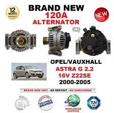 Para Opel Vauxhall Astra G 2.2 16V Z22SE 2000-2005 totalmente nuevo 120A Alternador