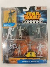 Star Wars Command Imperial Assault 9 Figures Hasbro Rebels Toy