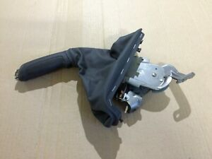 VAUXHALL CORSA D GENUINE HANDBRAKE LEVER HANDLE WITH LEATHER COVER 13255754