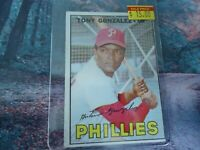 1967 TOPPS TONY GONZALEZ PHIL PHILLIES