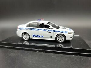 MITSUBISHI LANCER EVO X NSW POLICE CAR  1:43 SCALE DIECAST MODEL VITESSE 29258